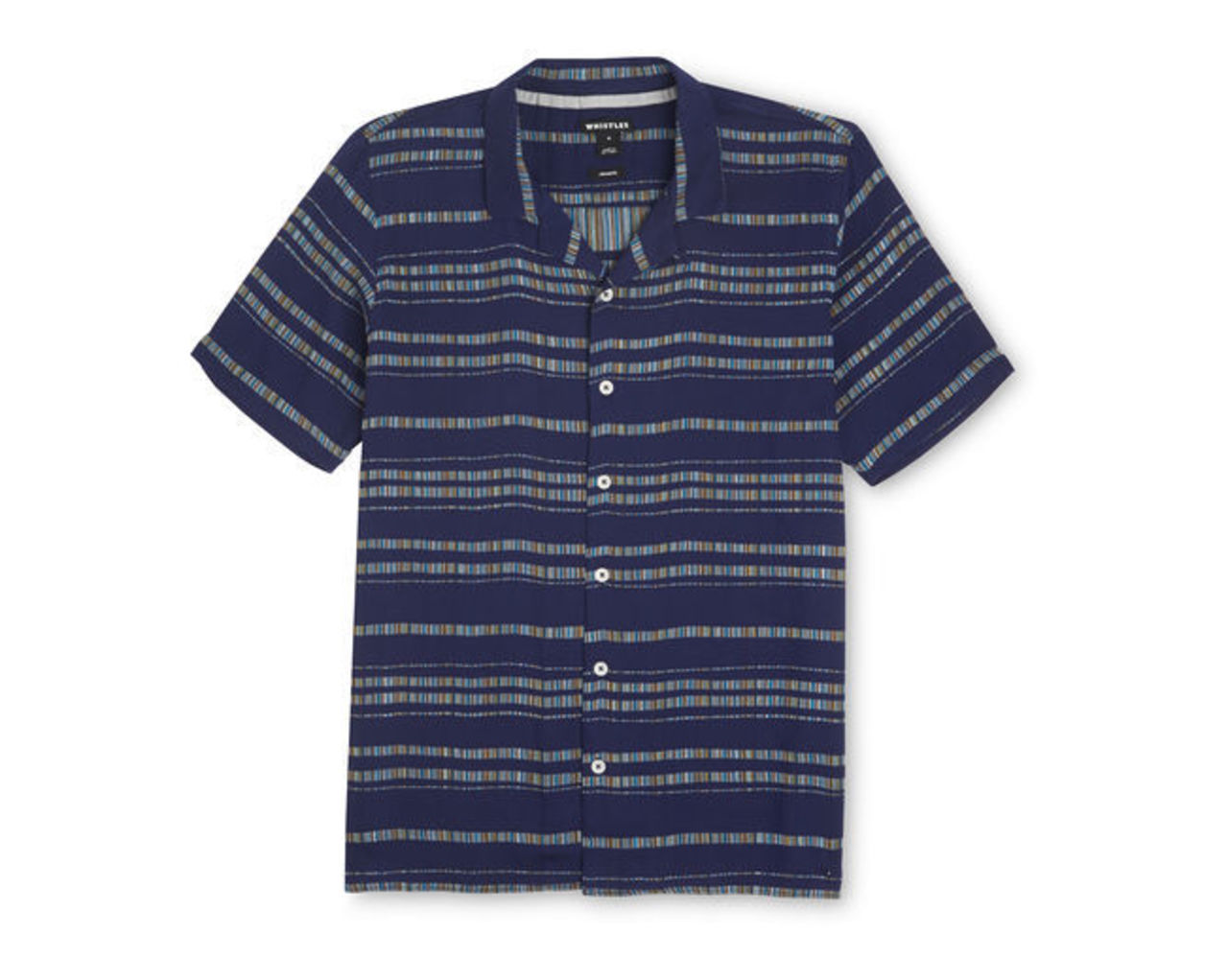 Stripe Weave Relaxed Shirt
