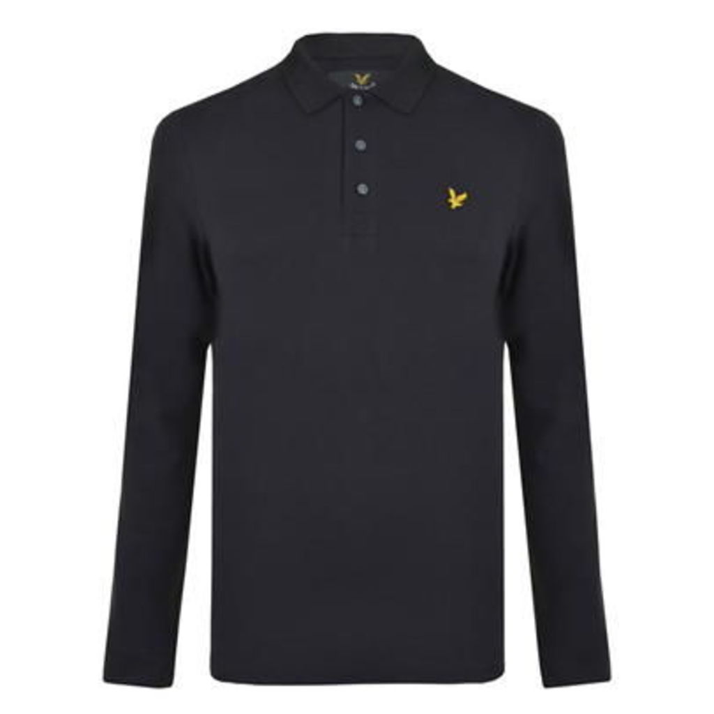 LYLE AND SCOTT Long Sleeved Polo Shirt