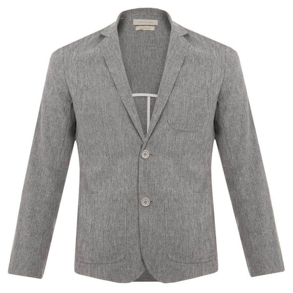 Kestin Hare Pembroke Grey Marl Blazer KHSS1710