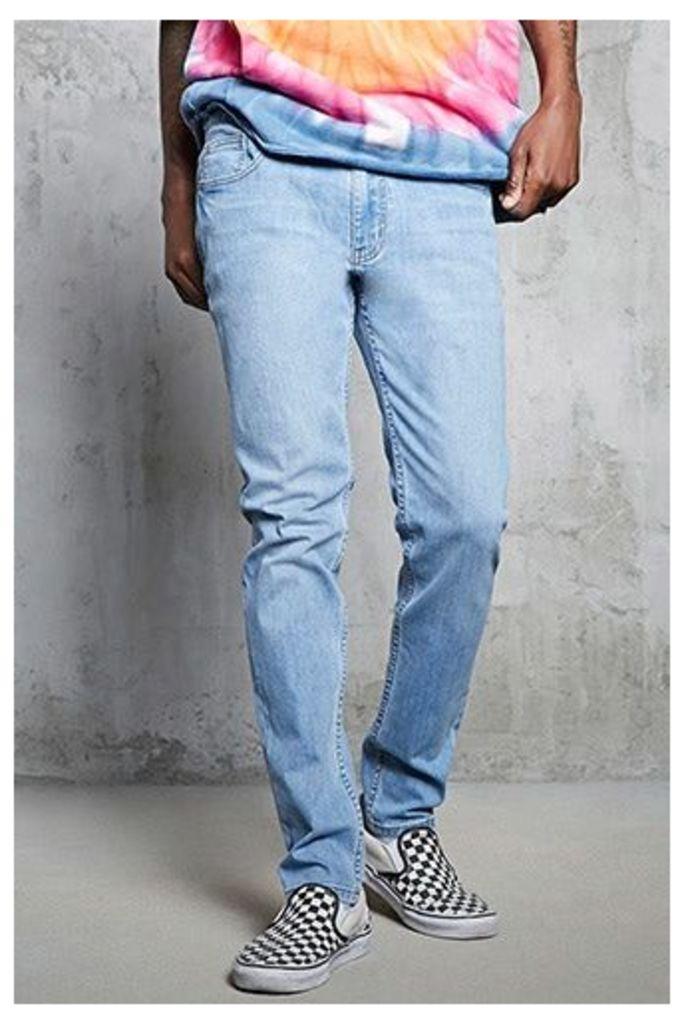 Clean Wash Skinny Jeans