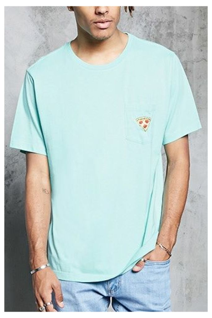 Pizza Patch Pocket Tee