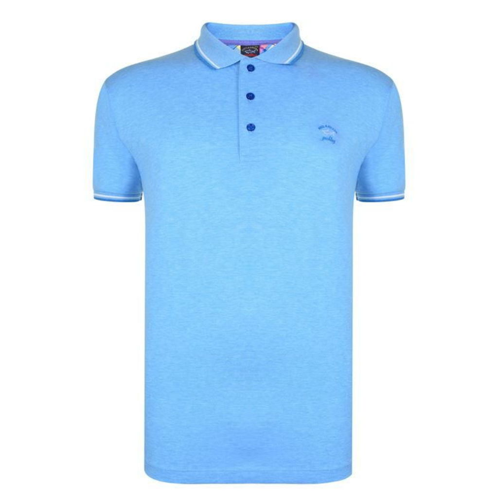 PAUL AND SHARK Tipped Polo Shirt
