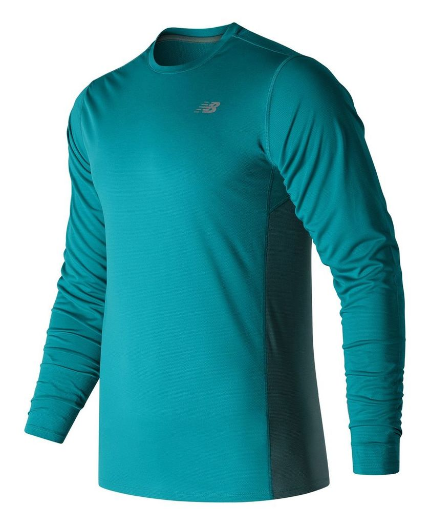 New Balance Accelerate Long Sleeve Men's Apparel Outlet MT53060DNB