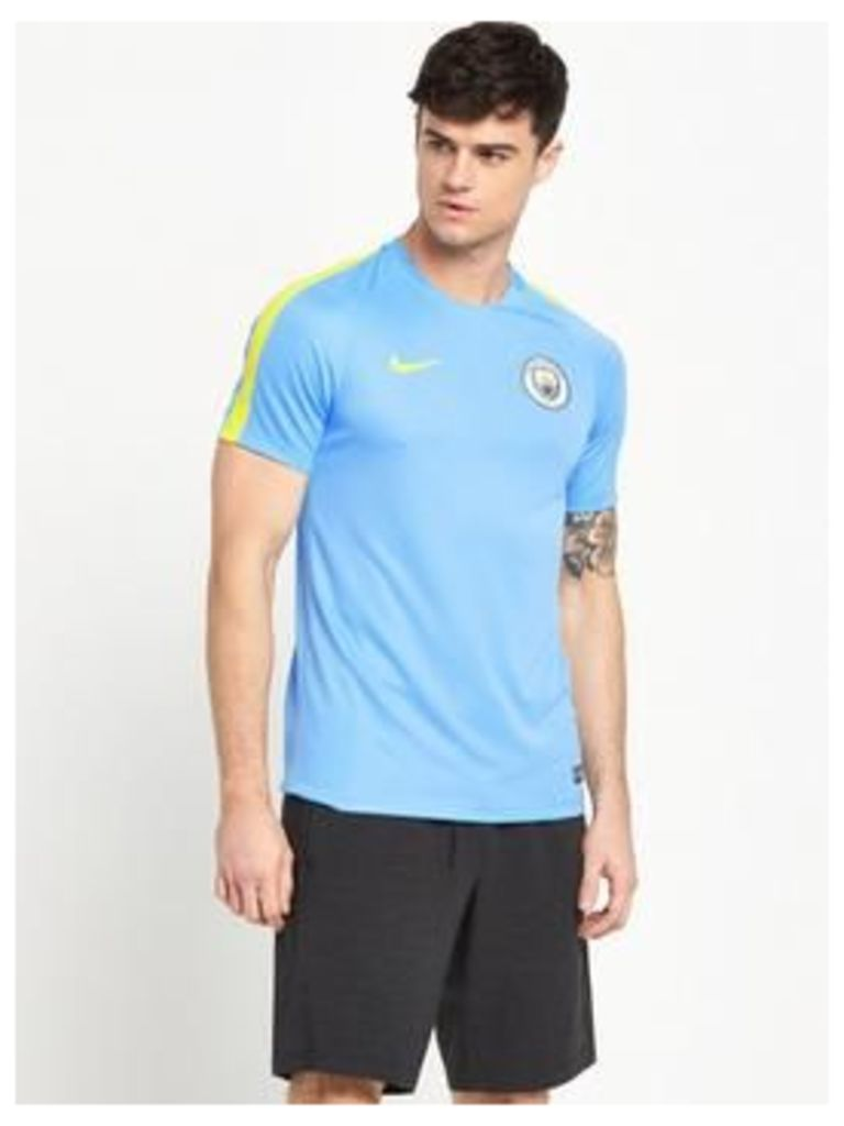 Nike Nike Mens Manchester City Squad Training Top