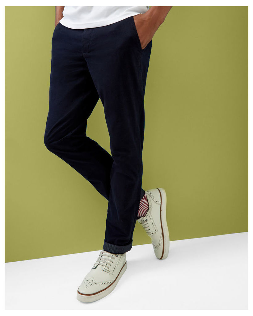 Ted Baker Classic fit chinos Navy