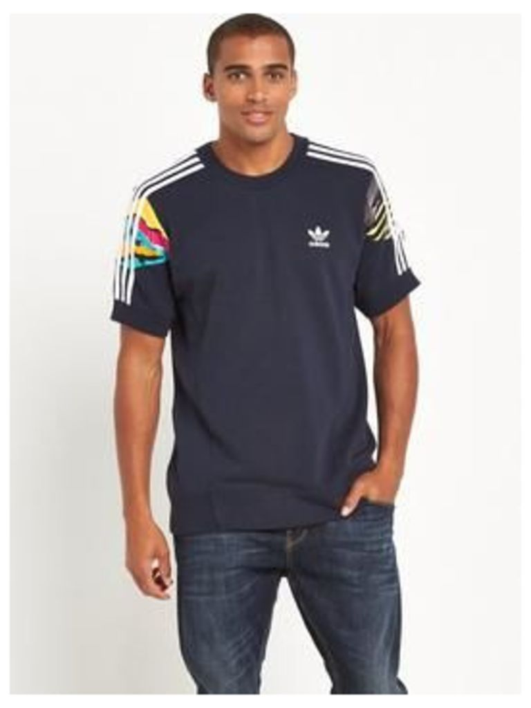 Adidas Originals Adidas Originals L.A Short Sleeve Crew Neck Sweat
