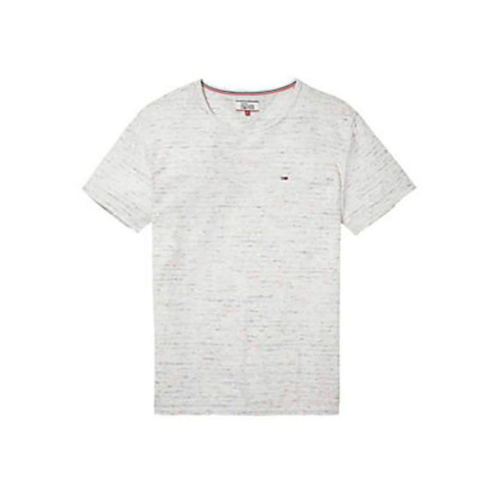 Tommy Hilfiger Relax Stripe Crew Neck T-Shirt, Marshmallow/Multi