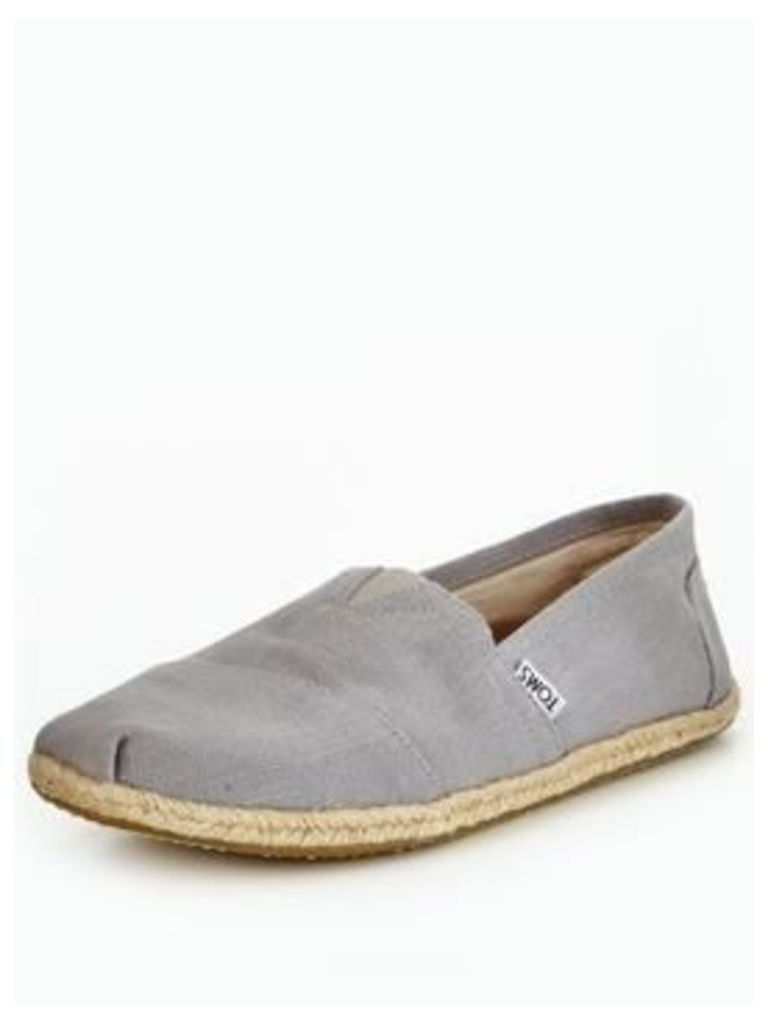 Toms Toms Alpargata Linen Slip On Shoe