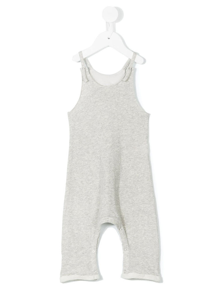 Tree House - dungaree romper suit - kids - Cotton - 18 mth, Grey