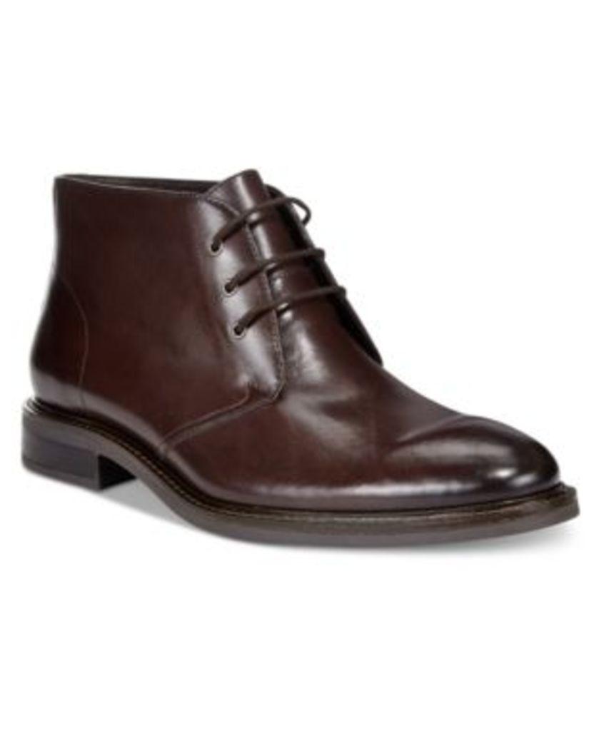 Alfani Men's Lombard Plain Toe Chukka Boots, Only at Macy's Men's Shoes