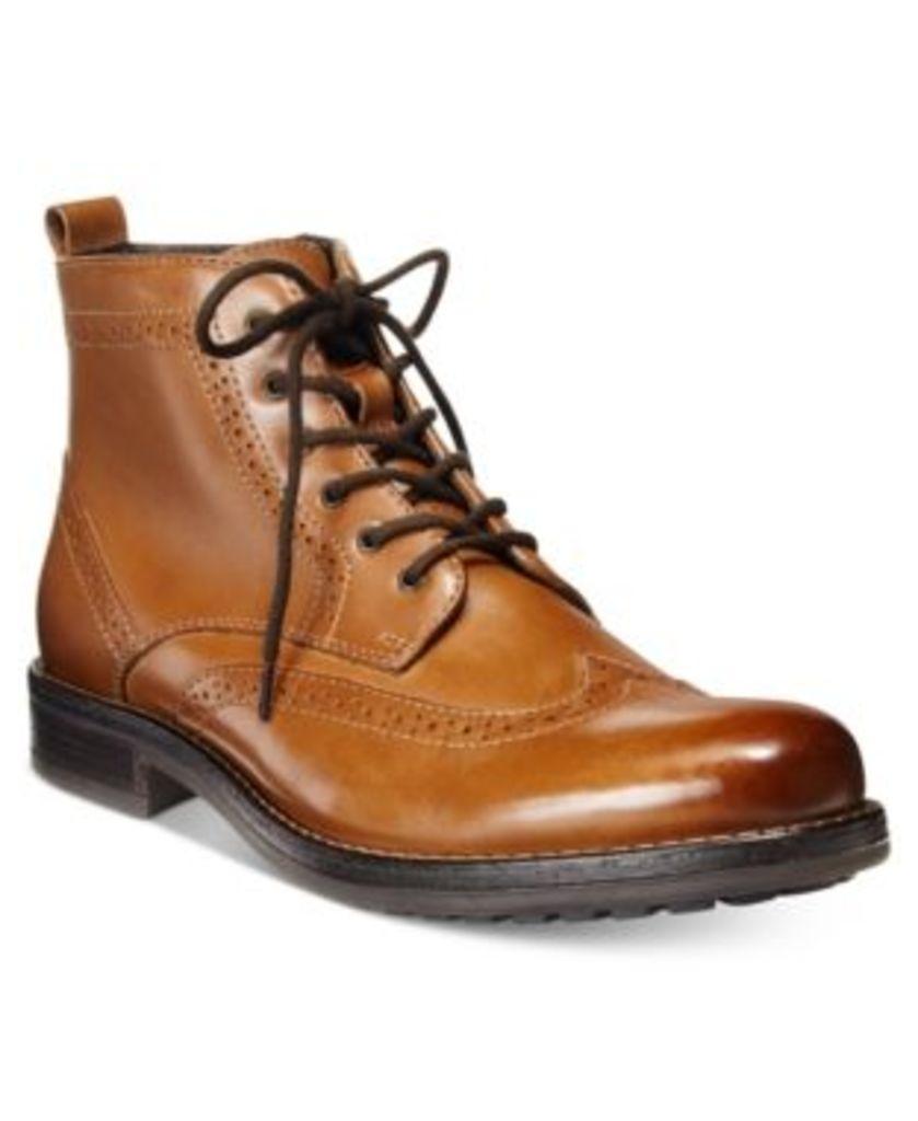 Bar Iii Men's Thompkins Wingtip Boots, Only at Macy's Men's Shoes
