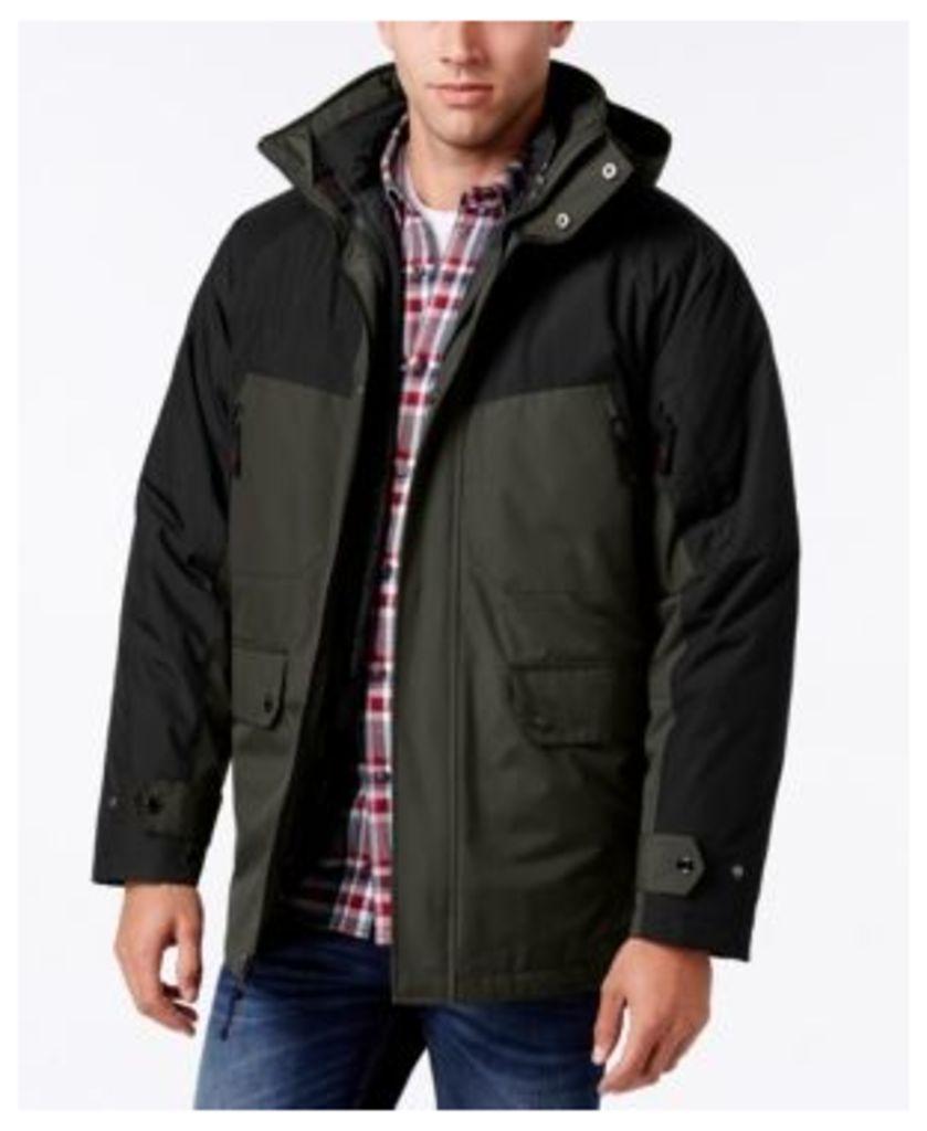 Izod Men's Colorblocked 3 - 1 Ski Jacket