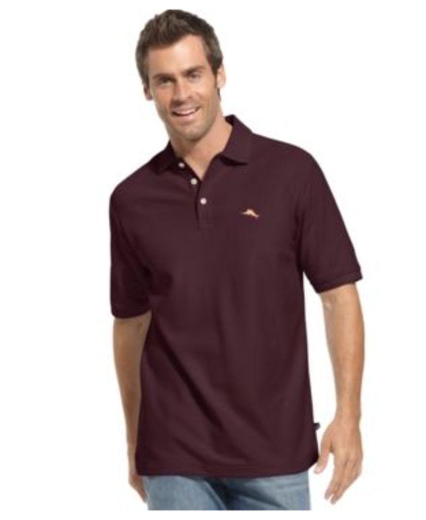 Tommy Bahama Big and Tall Men's Emfielder Short-Sleeve Polo