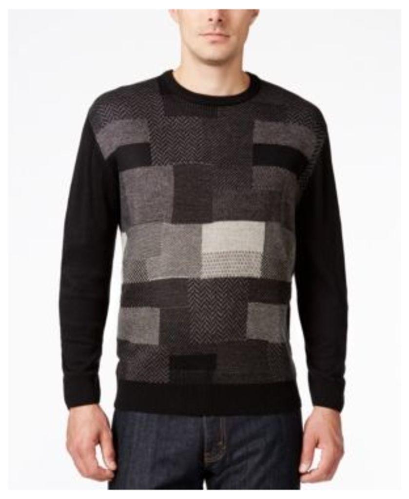 Weatherproof Vintage Men's Textured Sweater, Classic Fit
