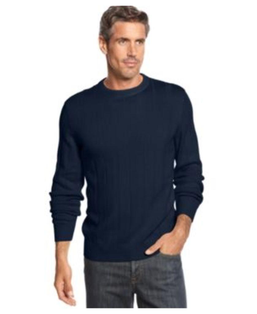 John Ashford Ribbed Cotton Sweater