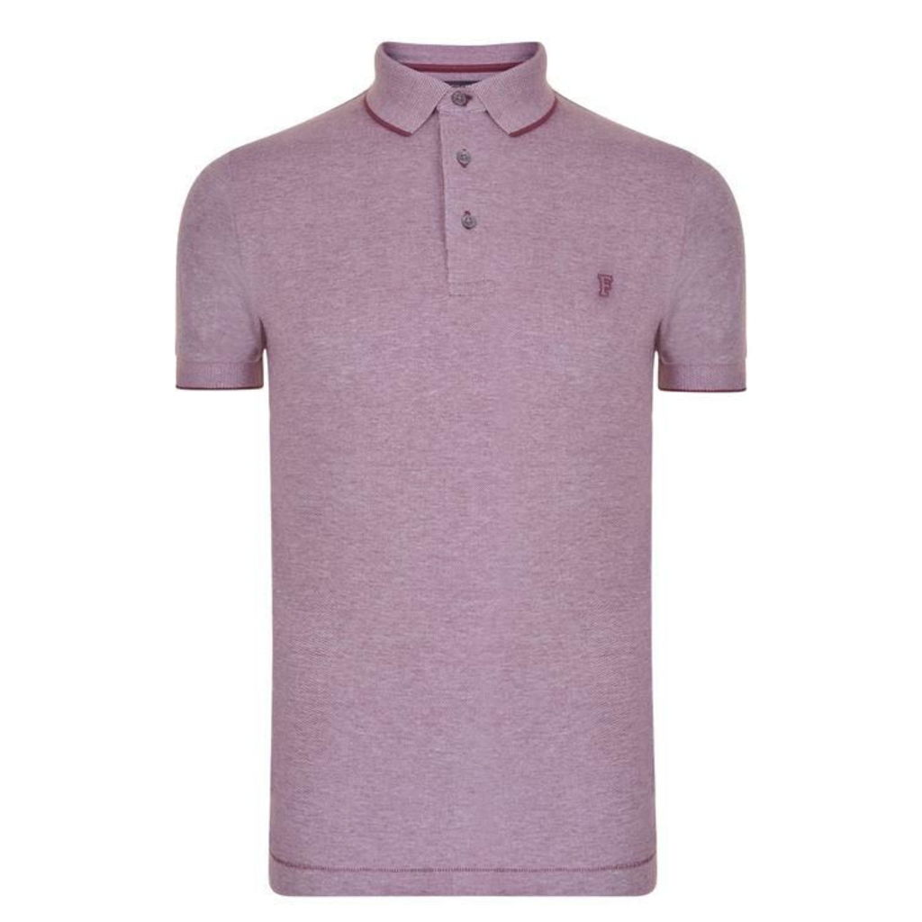 FRENCH CONNECTION Logo Polo Shirt