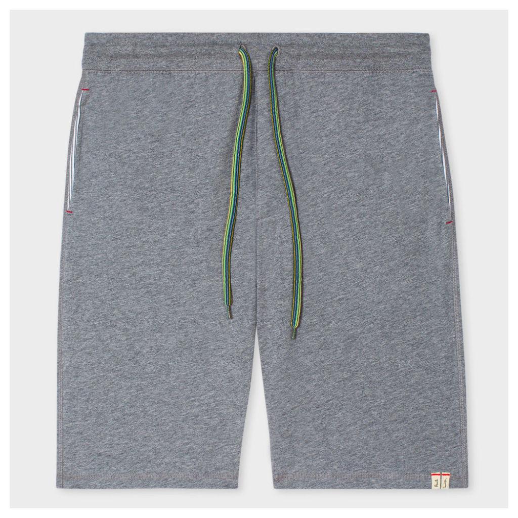 Men's Grey Jersey Cotton Shorts