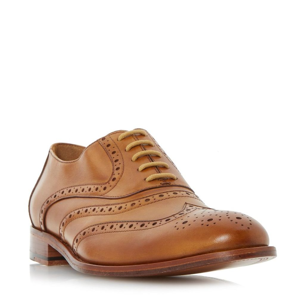 Prospero Leather Sole Oxford Brogue Shoe