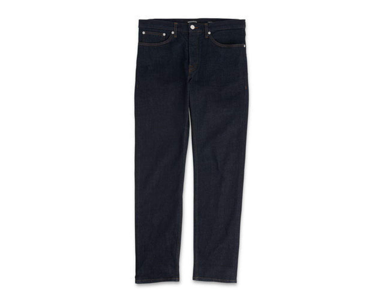 Tapered-Fit Selvedge Jeans