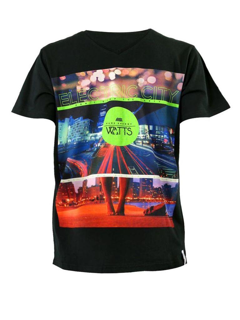 Watts Black Man T-Shirt Dalca