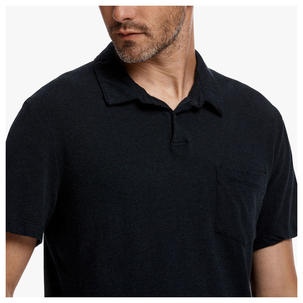 CONTRAST STITCH POLO