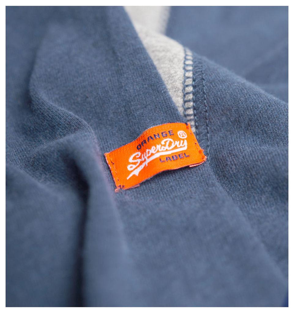 Orange Label L/S Baseball Tee