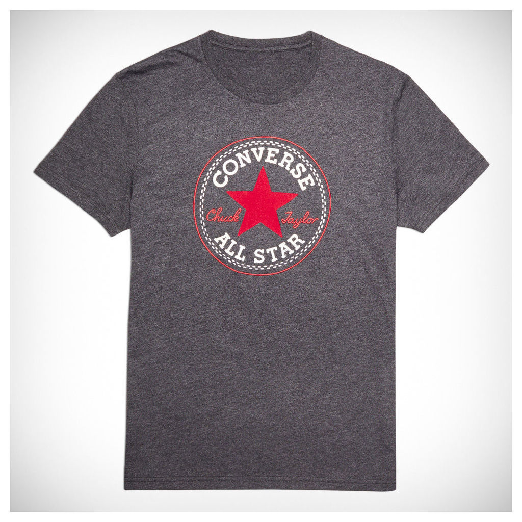 Men's Heathered Chuck Taylor Patch Tee