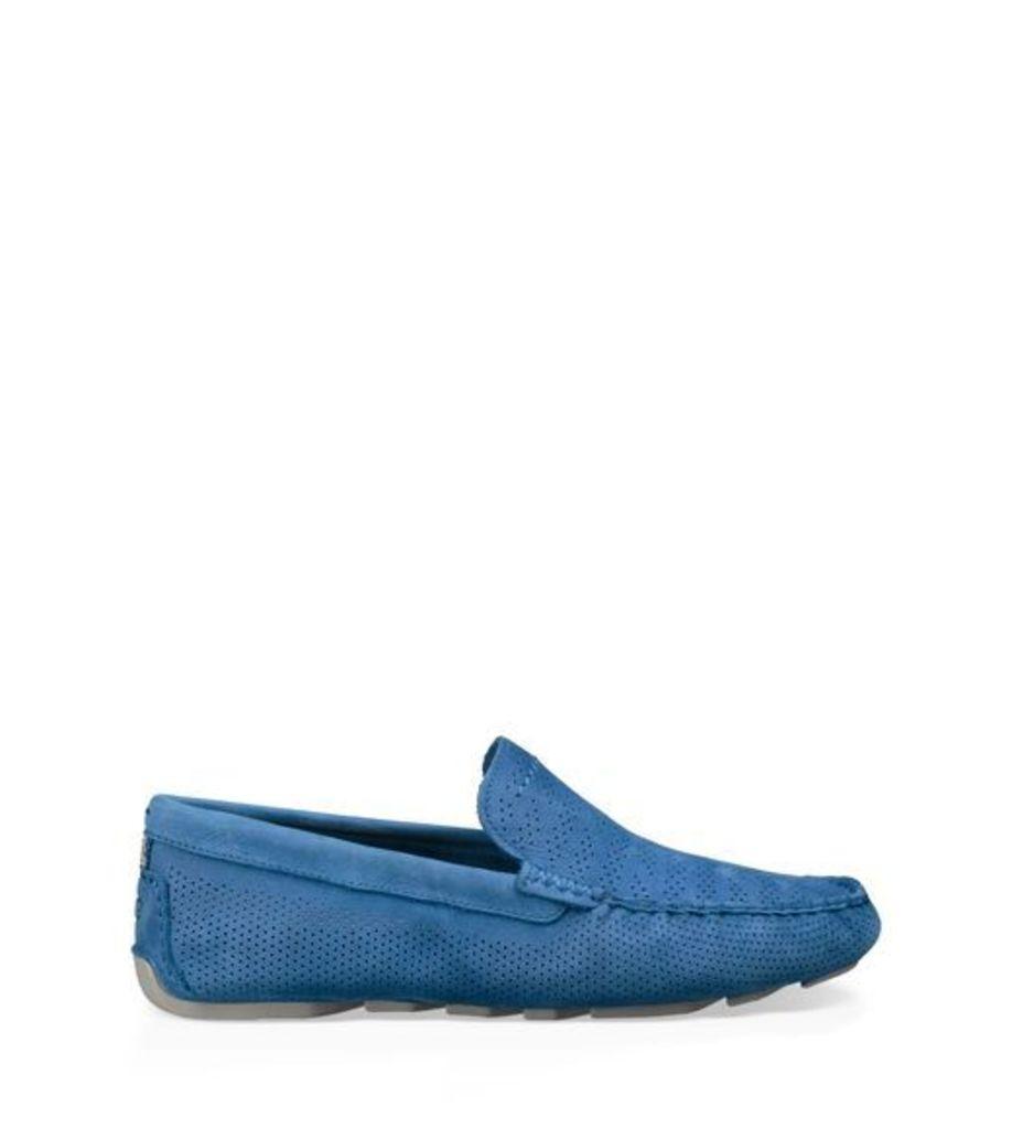 UGG Henrick Stripe Perf Mens Shoes Azul 9