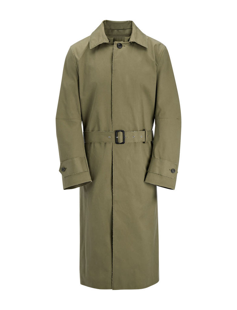 Bi-Colour Cotton Leone Coat