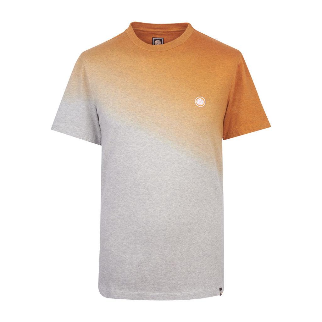 Pretty Green Men's Swinstead Crew Neck T-Shirt - Orange - L