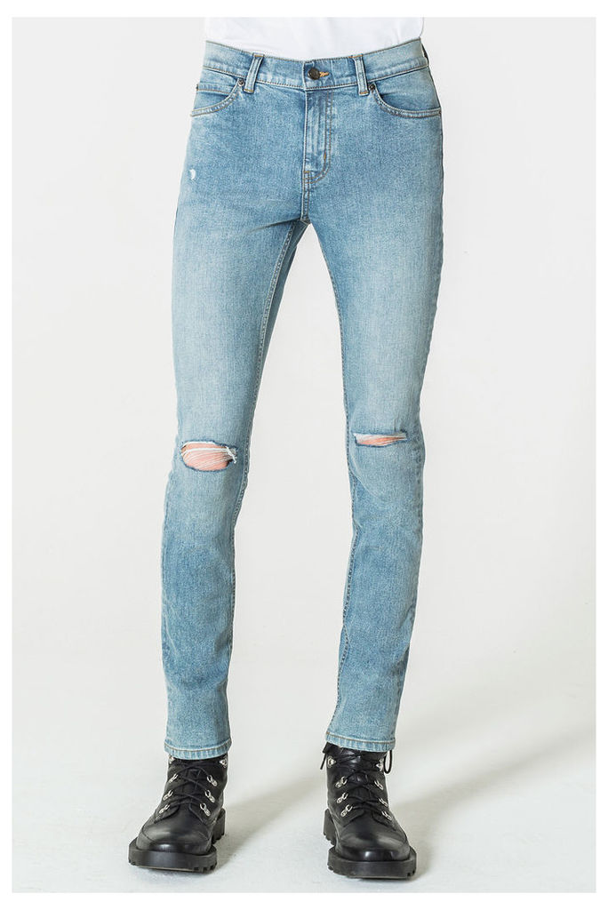 Tight Spear Blue Jeans