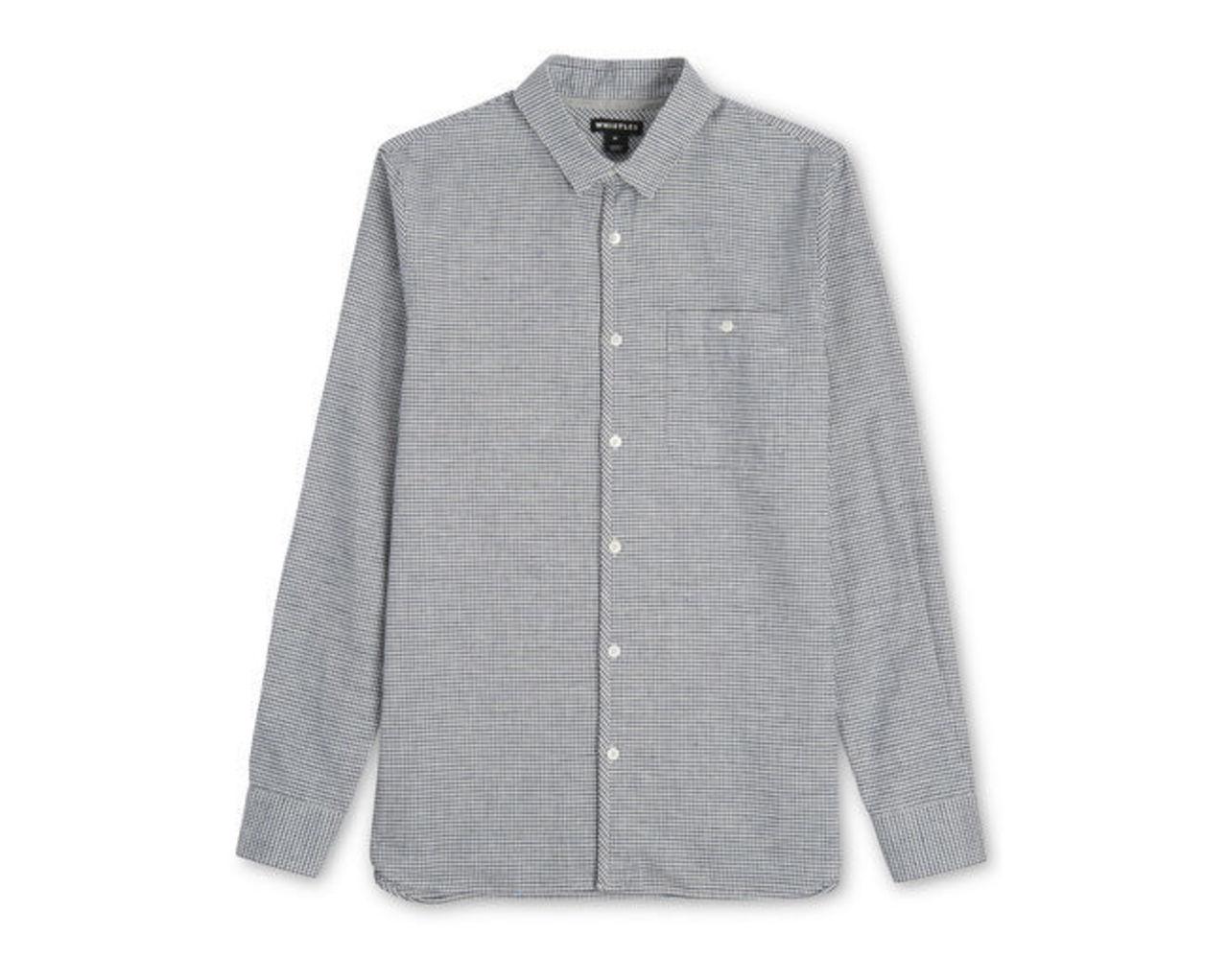Grid Check Slim Fit Shirt