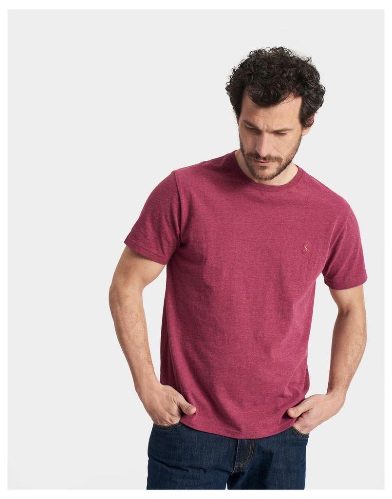 Rhubarb Marl Marltee T-Shirt  Size XL | Joules UK