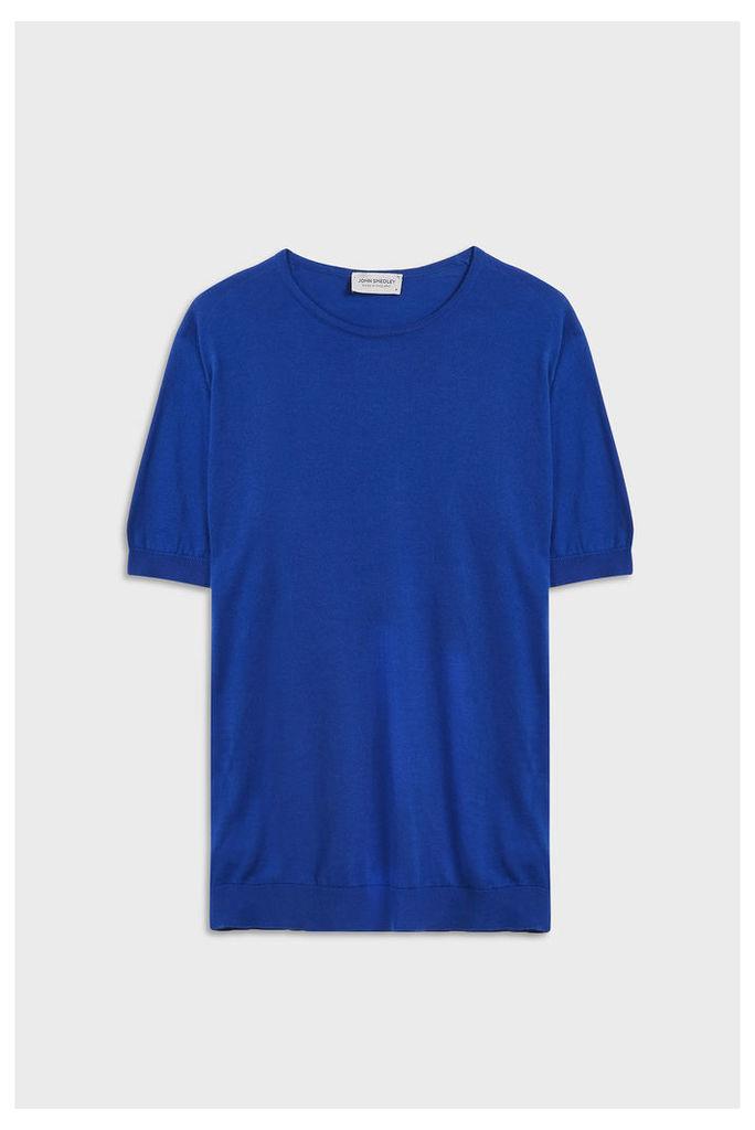John Smedley Men`s Belden Crew Neck Cotton T-shirt Boutique1