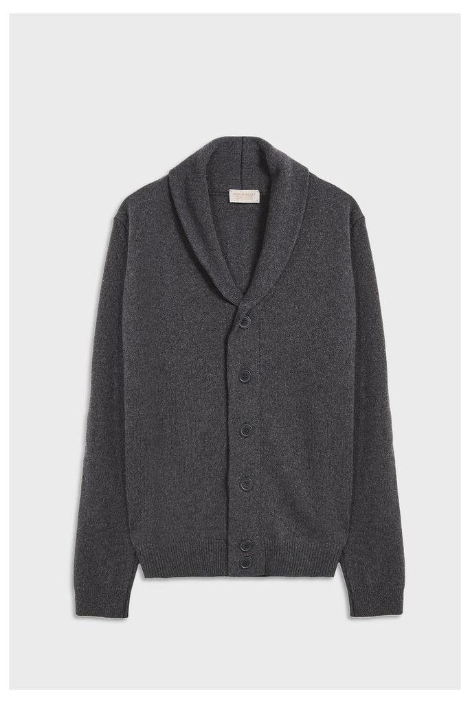 Men`s Patterson Shawl Collar Merino Wool Cardigan