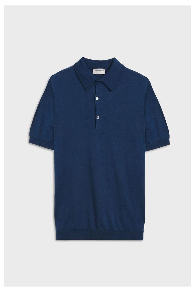 John Smedley Men`s Adrian Polo Cotton Shirt Boutique1