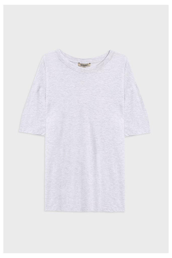 Yeezy Men`s Regular Crew Neck Cotton T-shirt Boutique1