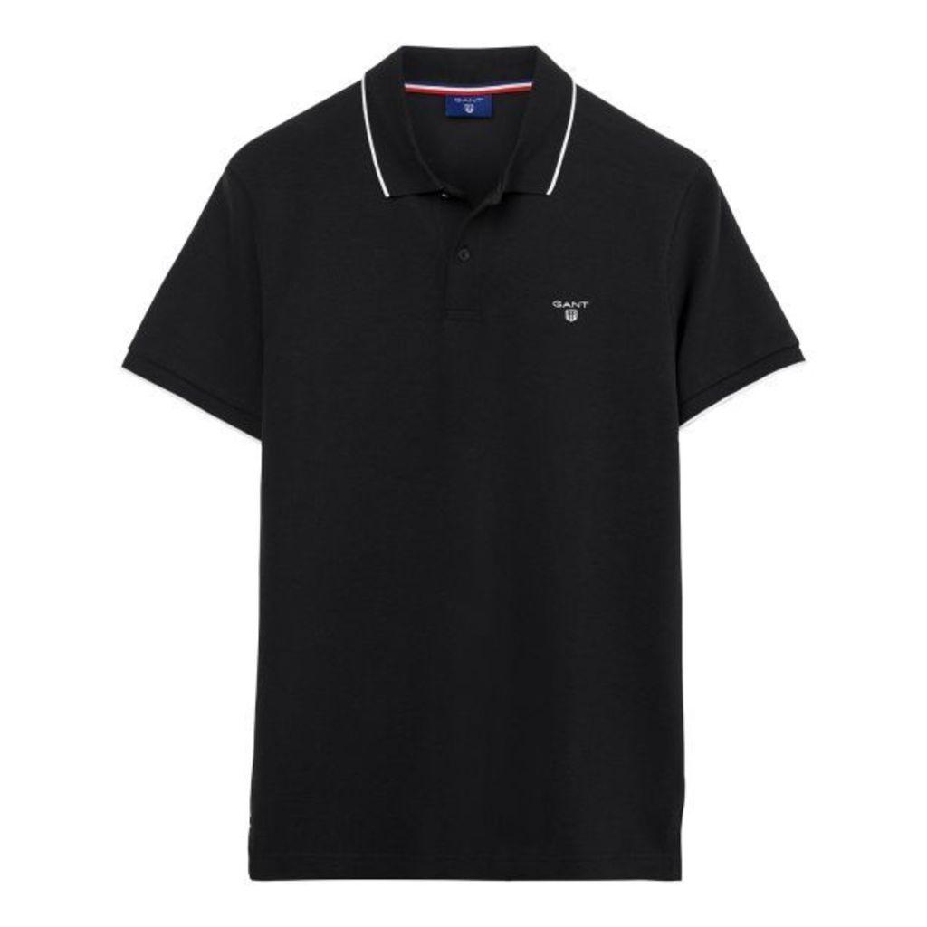 Tech Prep ™ Polo Shirt - Black