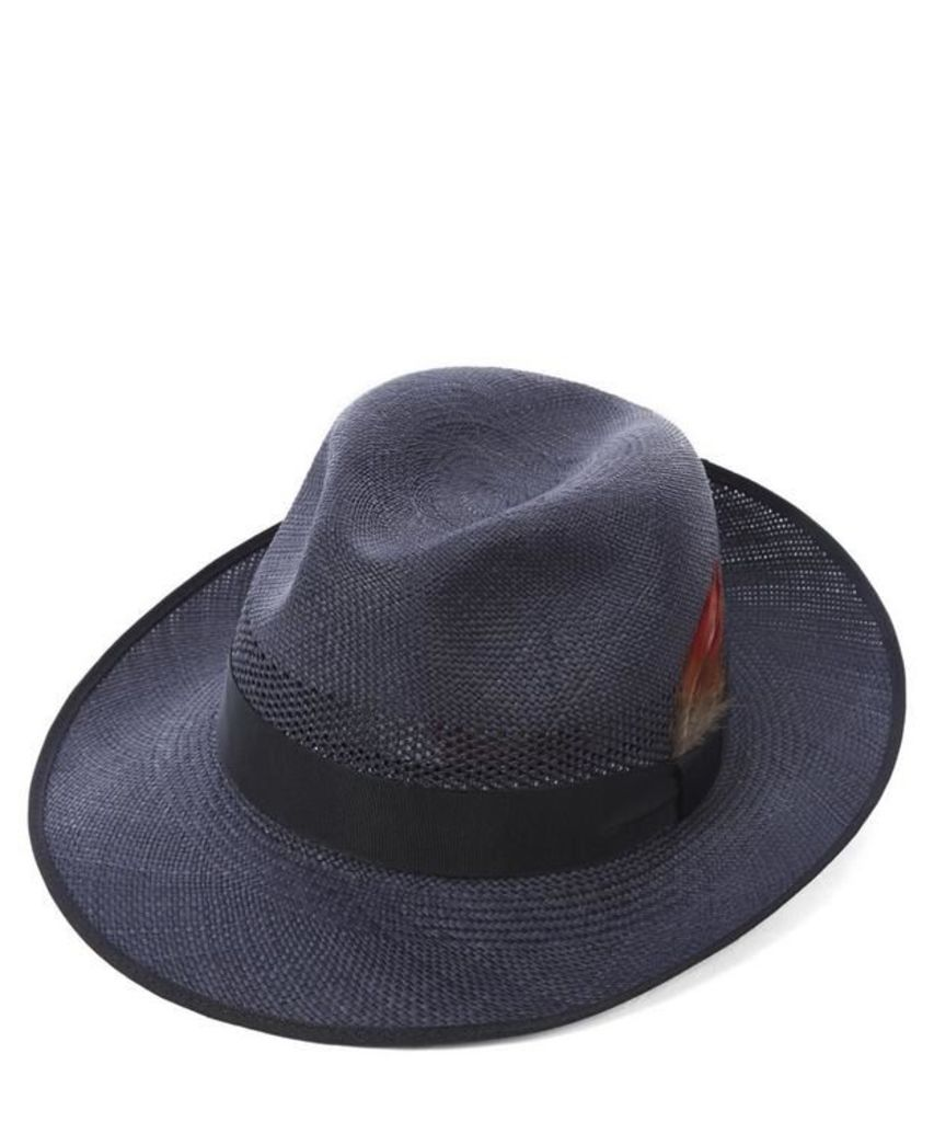 Notting Hill Snap Brim Panama Hat