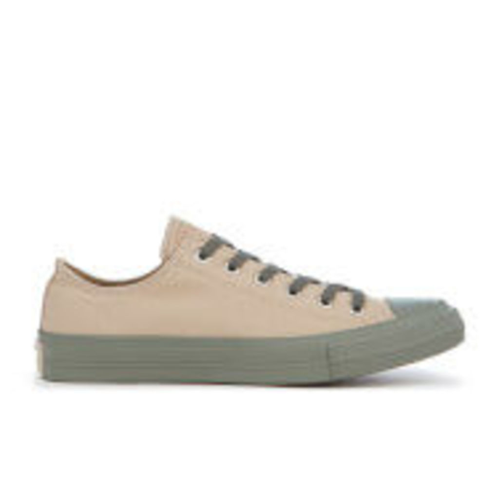 Converse Men's Chuck Taylor All Star II OX Trainers - Vintage Khaki/Olive Submarine/Gim