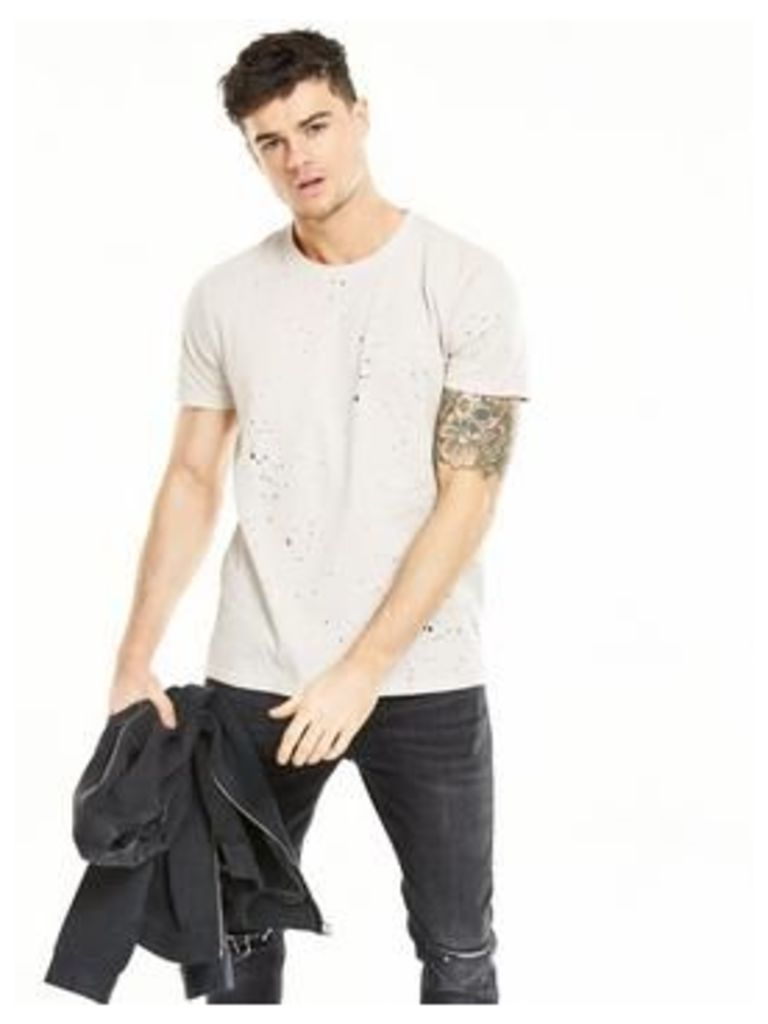 V By Very Distressed T-Shirt