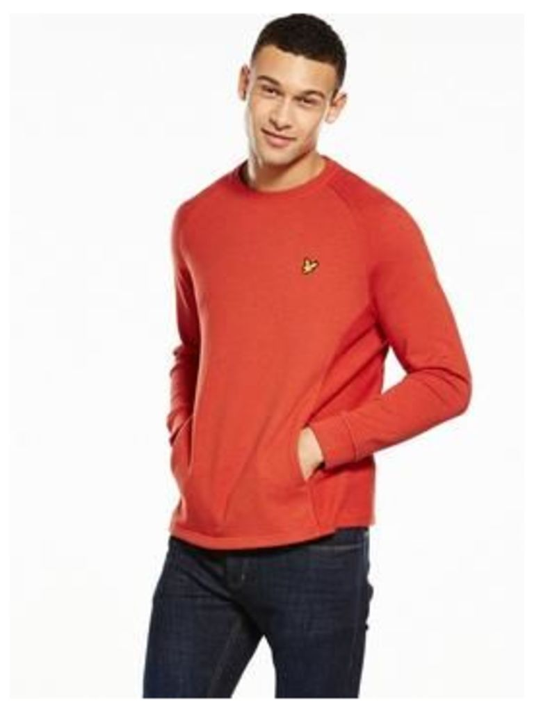 Lyle & Scott Crew Neck Seam Pocket Sweatshirt