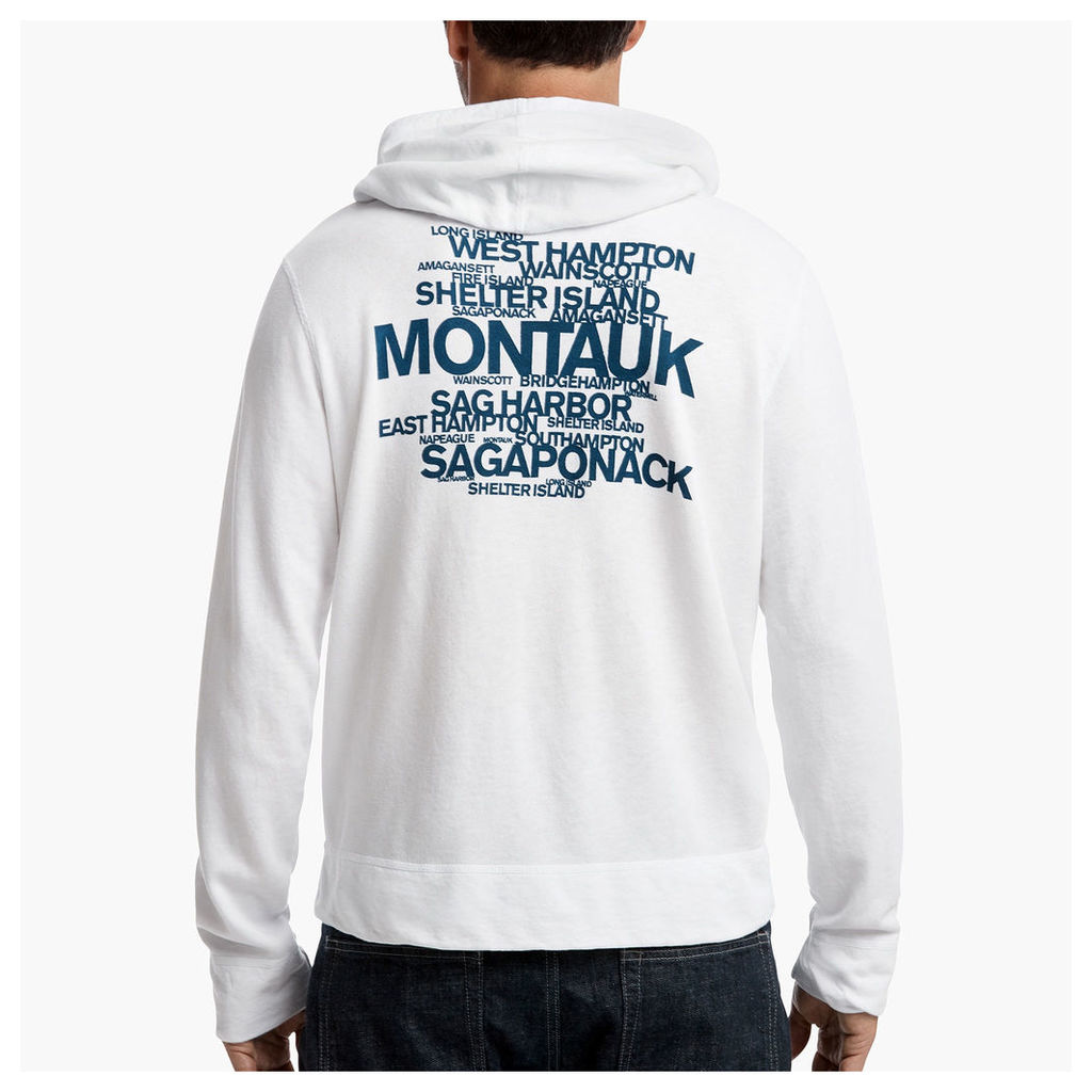 LONG ISLAND BEACH GRAPHIC HOODIE