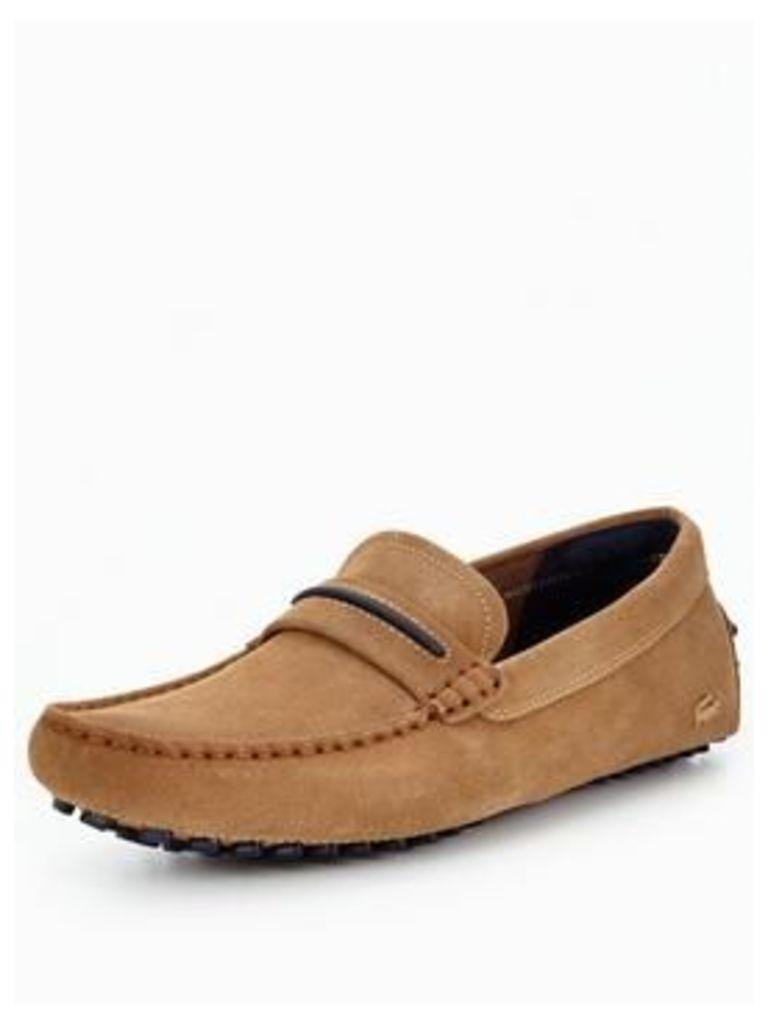 Lacoste Herron 117 1 Loafer - Tan, Tan, Size 11, Men