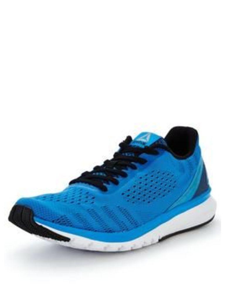 Reebok Print Run Smooth Ul, Blue/Black/White, Size 11, Men