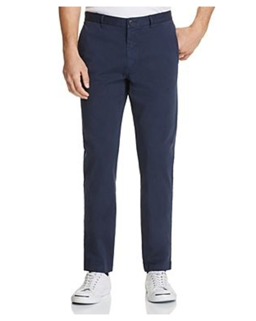 Theory Brewer Soft Sateen Slim Fit Pants