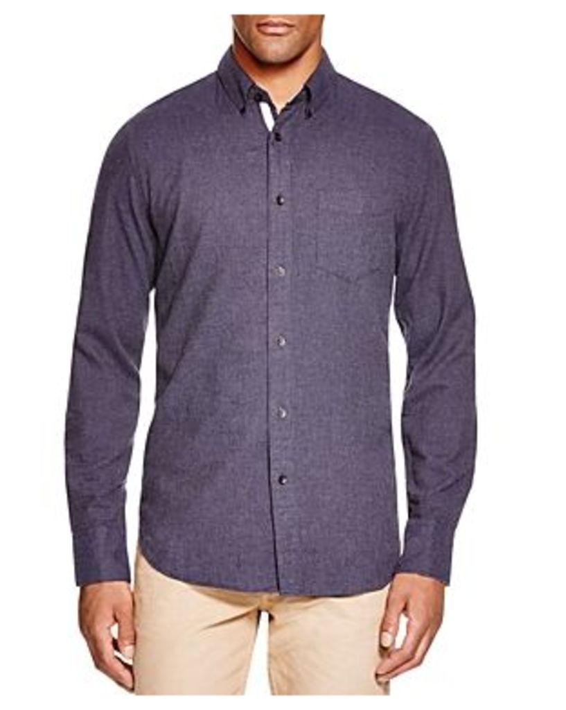 rag & bone Standard Issue Lightweight Flannel Regular Fit Button-Down Shirt