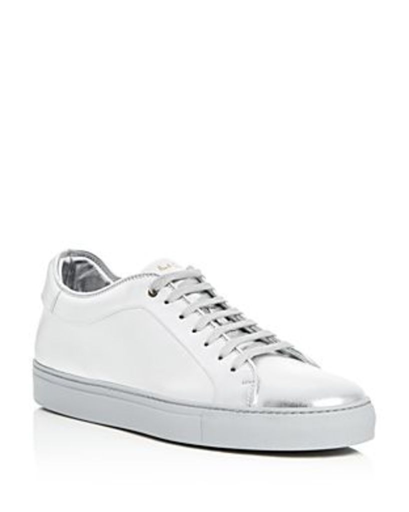 Paul Smith Basso Metallic Lace Up Sneakers
