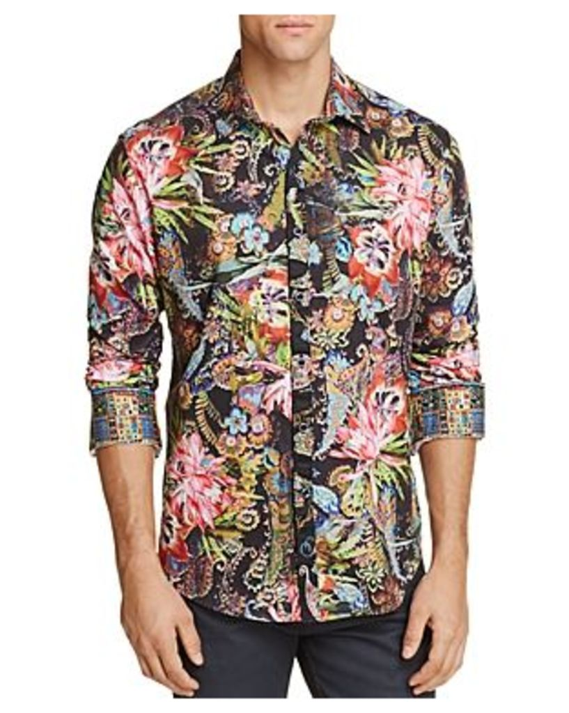 Robert Graham Himachai Floral Classic Fit Button-Down Shirt