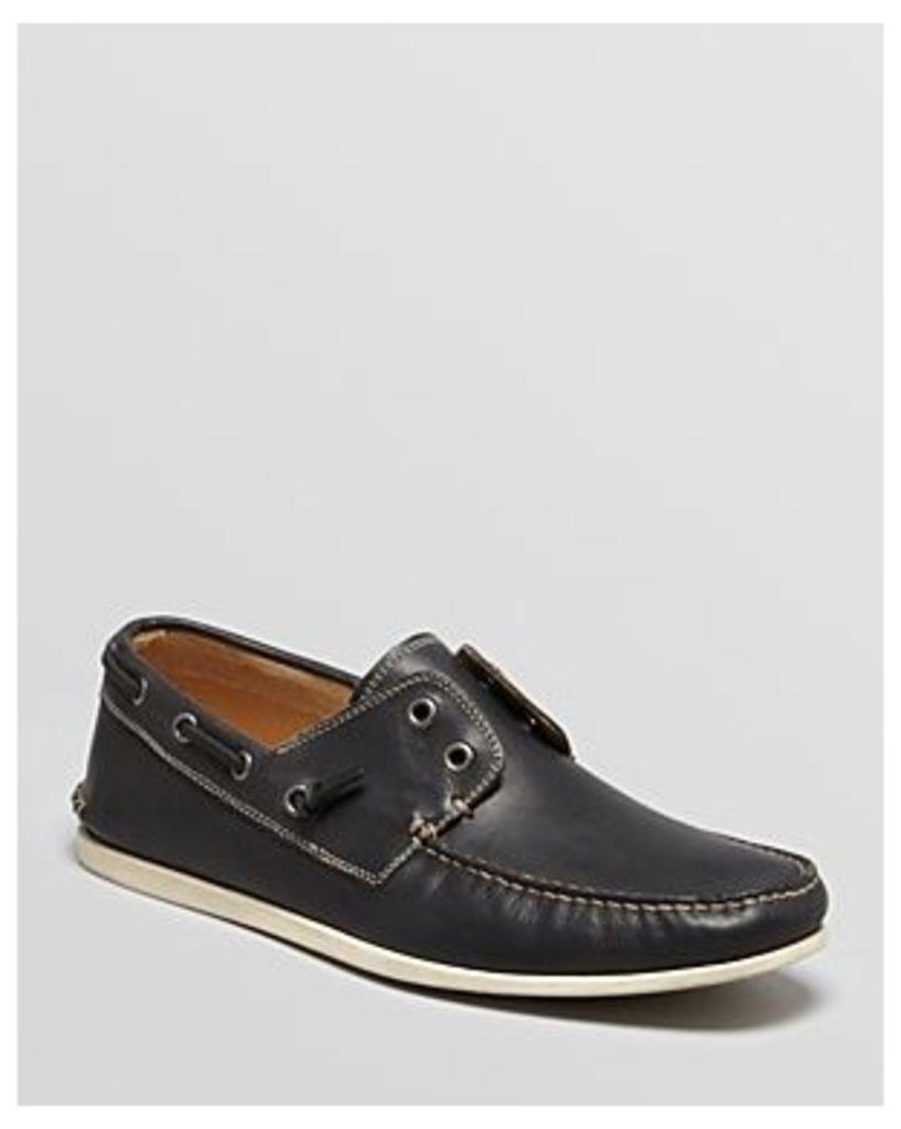John Varvatos Star Usa Schooner Laceless Boat Shoes